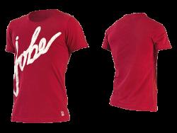 T-shirt Logo JOBE, T-shirt Logo Men Red JOBE, 565115004, JOBE 565115004, футболка, Футболка мужская, Футболка мужская спортивная, Футболка JOBE, фирменная футболка JOBE