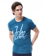 T-shirt Script Men Blue JOBE, 565117001, JOBE 565117001, футболка, Футболка мужская, Футболка мужская спортивная, Футболка JOBE, фирменная футболка JOBE
