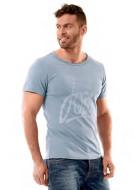 Script T-Shirt Men Fog Blue JOBE, 565118003, JOBE 565118003, футболка, Футболка мужская, Футболка мужская спортивная, Футболка JOBE, фирменная футболка JOBE