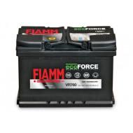 Аккумуляторная батарея FIAMM Ecoforce AGM 6СТ-70Аз 680А, АКБ, аккумулятор FIAMM