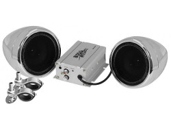 BOSS Marine MC400, BOSS MC400, MC400, акустика для мотоцикла, музыкальный комплект, Акустическая система