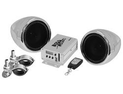 BOSS Marine MC500, BOSS MC500, MC500, акустика для мотоцикла, музыкальный комплект, Акустическая система
