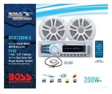 BOSS Marine MCK1306W.6, BOSS MCK1306W.6, MCK1306W.6, морская аудиосистема