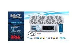 BOSS Marine MCK1308WB.64, BOSS MCK1308WB.64, MCK1308WB.64, морская аудиосистема