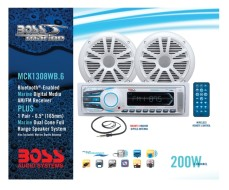 BOSS Marine MCK1308WB.6, BOSS MCK1308WB.6, MCK1308WB.6, морская аудиосистема
