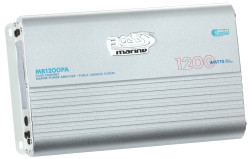 BOSS Marine MR1200PA, BOSS MR1200PA, MR1200PA, Морской усилитель звука, усилитель звука