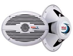 BOSS Marine MR690, BOSS MR690, MR690, динамики BOSS Marine, Морские динамики, морские коаксиальные динамики, водонепроницаемые динамики, динамики для лодки, морская акустика, колонки для лодки, колонки водонепроницаемые