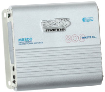 BOSS Marine MR800, BOSS MR800, MR800, Морской усилитель звука, усилитель звука