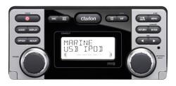 Clarion CMD8, Морской многофункциональный ресивер, Морской ресивер, морская магнитола