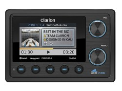 Clarion CMS4, Clarion, Морской многофункциональный ресивер, Морской ресивер, морская магнитола