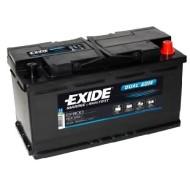 Аккумуляторная батарея Exide Dual AGM EP 800, Exide EP 800, АКБ, аккумулятор Exide, Аккумуляторная батарея глубокого разряда, гелиевый акб, гелиевый аккумулятор