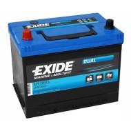 Аккумуляторная батарея Exide Dual ER 350, Exide ER 350, АКБ, аккумулятор Exide, Аккумуляторная батарея глубокого разряда, гелиевый акб, гелиевый аккумулятор