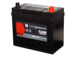 Аккумуляторная батарея FIAMM TITANIUM BLACK 12V 45Ah 360A, АКБ, аккумулятор FIAMM