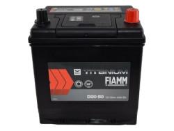 Аккумуляторная батарея FIAMM TITANIUM BLACK 12V 50Ah 420A, АКБ, аккумулятор FIAMM