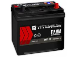 Аккумуляторная батарея FIAMM TITANIUM BLACK 12V 60Ah 540A, АКБ, аккумулятор FIAMM