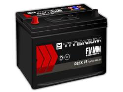 Аккумуляторная батарея FIAMM TITANIUM BLACK 12V 75Ah 640A, АКБ, аккумулятор FIAMM