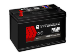 Аккумуляторная батарея FIAMM TITANIUM BLACK 12V 95Ah 760A, АКБ, аккумулятор FIAMM