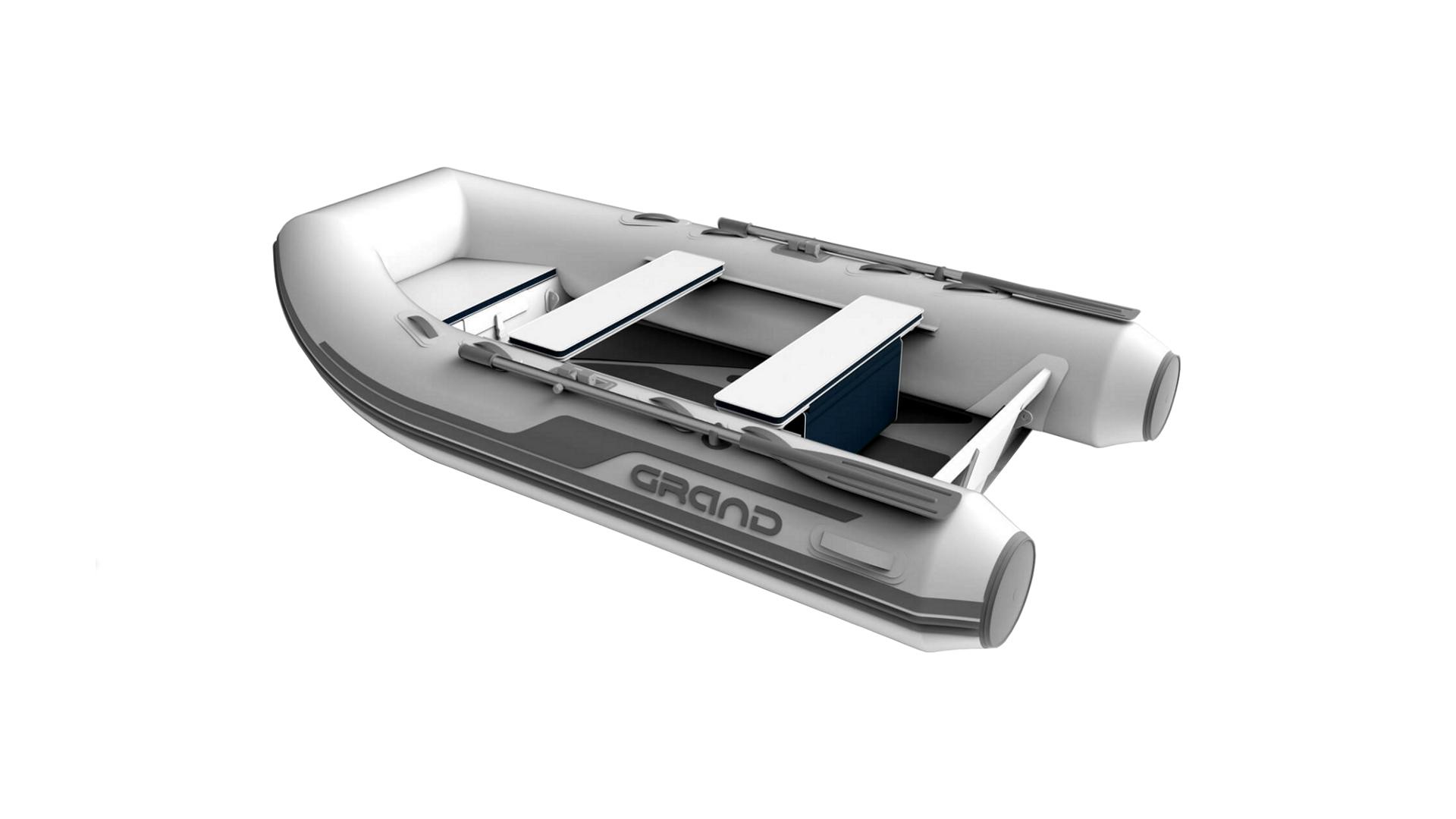 Надувная лодка с жестким алюминиевым дном GRAND Aluminum Line Alu300D, Надувная лодка GRAND Aluminum Line Alu270D, GRAND Aluminum Line Alu270D, GRAND Alu270D, Надувная лодка GRAND, Надувная лодка ГРАНД, Надувная лодка с жестким дном, RIB, Rigid Inflatable Boats