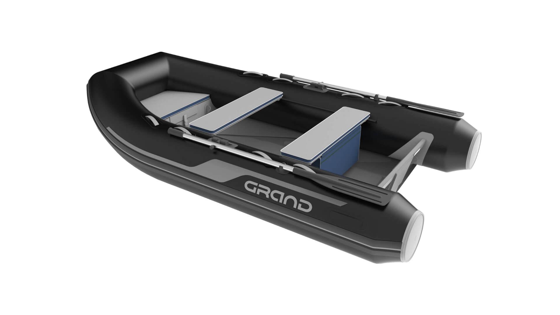 Надувная лодка с жестким алюминиевым дном GRAND Aluminum Line Alu330D, Надувная лодка GRAND Aluminum Line Alu330D, GRAND Aluminum Line Alu330D, GRAND Alu330D, Надувная лодка GRAND, Надувная лодка ГРАНД, Надувная лодка с жестким дном, RIB, Rigid Inflatable Boats
