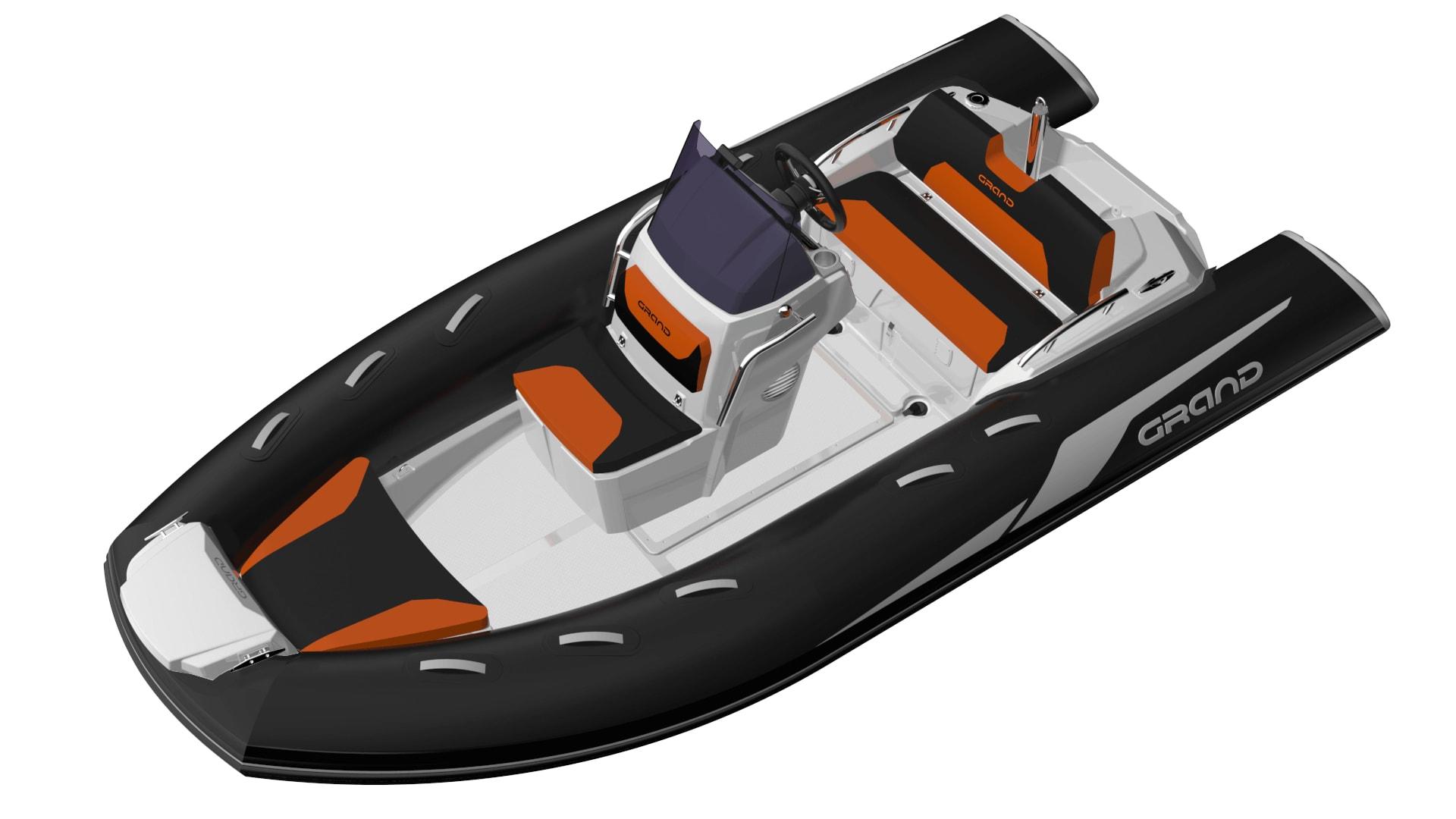 Grand Golden Line G420LF, Grand Golden Line G420, Golden Line G420, GRAND G420, G420, Надувная лодка GRAND Golden Line G420, Надувная лодка GRAND G420, Надувная лодка с жестким дном, Rigid Inflatable Boats, RIB