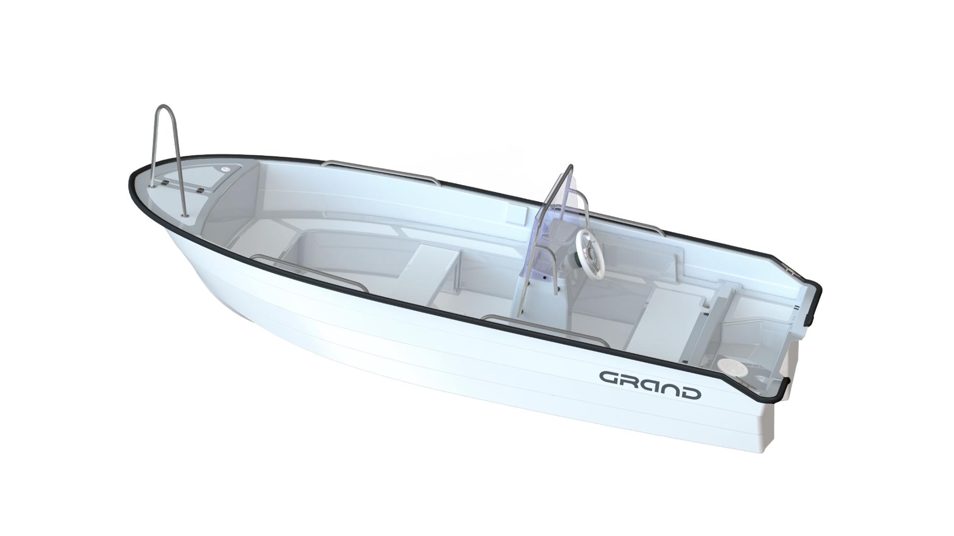 Стеклопластиковая моторная лодка GRAND Nautilus N440L, GRAND N440L, GRAND Nautilus, GRAND Nautilus N440L, Стеклопластиковая моторная лодка GRAND, Моторная лодка GRAND, Стеклопластиковая лодка GRAND, Лодка для рыбалки, Лодка для большой компании