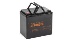 Гелевая тяговая аккумуляторная батарея STRONGER 45Ah (12V), Гелевая аккумуляторная батарея STRONGER 45Ah, Гелевый АКБ STRONGER, ГЕЛЕВЫЙ АККУМУЛЯТОР, gel battery Stronger