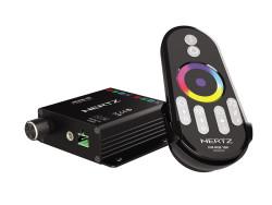 Hertz HM RGB 1BK RF, HM RGB 1BK RF, пульт дистанционного управления Hertz, Hertz, морская аудиотехника, аудиотехника для лодки, пульт Hertz, пульт Hertz, ПДУ Hertz