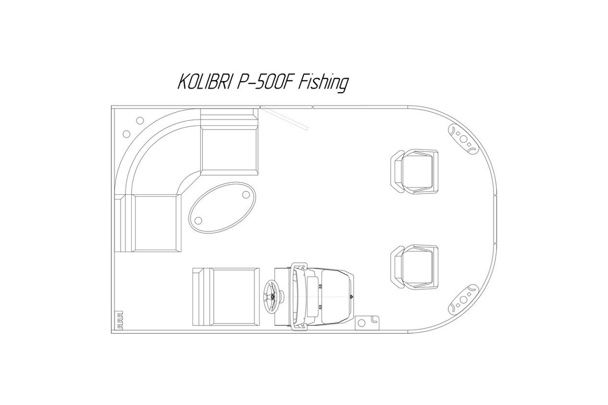 kolibri p-500f fishing