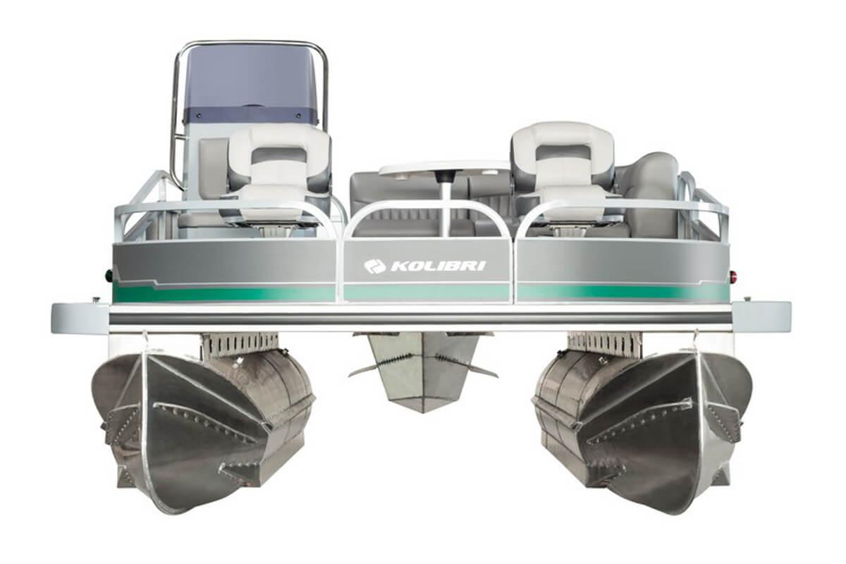 Понтонный катер KOLIBRI P-500F Fishing, Понтонный катер KOLIBRI P-500F, Понтонный катер KOLIBRI, Понтонный катер, Понтон, Катамаран, KOLIBRI, понтонний катер, понтон алюминиевый, понтон для рыбалки