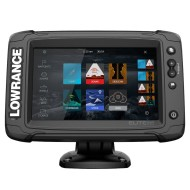 Lowrance Elite-7 Ti² Active Imaging 3-in-1™, Эхолот с GPS, картплоттер, Сенсорный эхолот, картплоттер Lowrance, Lowrance Elite-7, Lowrance Elite, Elite-7 Ti², TOUCHSCREEN FISHFINDER, CHARTPLOTTER