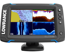 Lowrance Elite-7 Ti Mid/High/TotalScan™, Elite-7 Ti, эхолот Lowrance Elite-7 Ti, картплоттер Lowrance Elite-7 Ti, картплоттер Lowrance