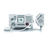 Lowrance Link-6 DSC VHF, Lowrance Link-6 VHF Radio, Морская радиостанция Lowrance, Морская радиостанция, радиостанция Lowrance, Морская УКВ радиостанция