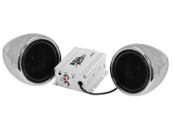 BOSS Marine MC400, BOSS MC400, MC400, BOSS Audio MC400, Boss Audio Systems MC400, BOSS Audio Marine MC400, аудиосистема для мотоцикла, аудиосистема на мотоцикл, музыка на мотоцикл, BLUETOOTH 600 WATTS MAX POWER ALL-TERRAIN SPEAKER AND AMPLIFIER SYSTEM