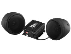 BOSS Marine MCBK420B, BOSS MCBK420B, MCBK420B, BOSS Audio MCBK420B, Boss Audio Systems MCBK420B, BOSS Audio Marine MCBK420B, аудиосистема для мотоцикла, аудиосистема на мотоцикл, музыка на мотоцикл, Акустическая система для мотоцикла, BLUETOOTH | 600 WATTS MAX POWER ALL-TERRAIN SPEAKER AND AMPLIFIER SYSTEM