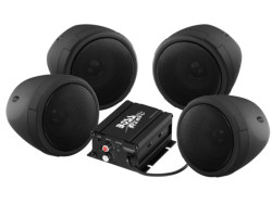 BOSS Marine MCBK470B, BOSS MCBK470B, MCBK470B, BOSS Audio MCBK470B, Boss Audio Systems MCBK470B, BOSS Audio Marine MCBK470B, аудиосистема для мотоцикла, аудиосистема на мотоцикл, музыка на мотоцикл, Акустическая система для мотоцикла, BLUETOOTH® | 1000 WATTS MAX POWER ALL-TERRAIN SPEAKER AND AMPLIFIER SYSTEM