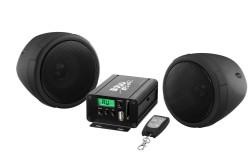 BOSS Marine MCBK500, BOSS MCBK500, MCBK500, акустика для мотоцикла, музыкальный комплект, Акустическая система