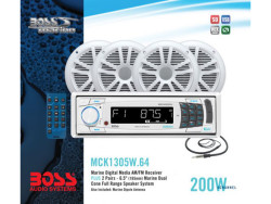 BOSS Audio Marine MCK1305W.64, BOSS Marine MCK1305W.64, BOSS Audio Systems MCK1305W.64, BOSS Audio MCK1305W.64, BOSS MCK1305W.64, MCK1305W.64, морская магнитола, BOSS Audio Systems, BOSS Audio, BOSS Marine, магнитола BOSS Marine, морская магнитола BOSS