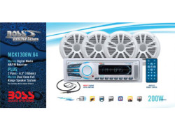 BOSS Audio Marine MCK1306W.64, BOSS Marine MCK1306W.64, BOSS Audio Systems MCK1306W.64, BOSS Audio MCK1306W.64, BOSS MCK1306W.64, MCK1306W.64, морская магнитола, BOSS Audio Systems, BOSS Audio, BOSS Marine, магнитола BOSS Marine, морская магнитола BOSS