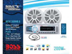 BOSS Audio Marine MCK1308WB.6, BOSS Marine MCK1308WB.6, BOSS Audio Systems MCK1308WB.6, BOSS Audio MCK1308WB.6, BOSS MCK1308WB.6, MCK1308WB.6, морская магнитола, BOSS Audio Systems, BOSS Audio, BOSS Marine, магнитола BOSS Marine, морская магнитола BOSS