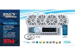 BOSS Audio Marine MCK1308WB.64, BOSS Marine MCK1308WB.64, BOSS Audio Systems MCK1308WB.64, BOSS Audio MCK1308WB.64, BOSS MCK1308WB.64, MCK1308WB.64, морская магнитола, BOSS Audio Systems, BOSS Audio, BOSS Marine, магнитола BOSS Marine, морская магнитола BOSS