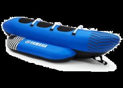 N18-GN015-E0-00, Надувной буксируемый водный аттракцион, буксируемый надувной водный аттракцион, надувной водный аттракцион, водный аттракцион, буксируемый водный аттракцион, буксируемый аттракцион, водный аттракцион, Shuttle Towable 3P Blue YAMAHA, водный банан, аттракцион банан, буксируемый надувной банан
