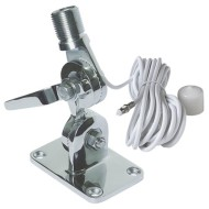 Крепление из нержавеющей стали для УКВ антенны, VHF F/DN MMT S/S FASTFIT WITHCBL, Navico 1815 VHF antenna mount, Navico 1815 VHF, Крепление VA-MTG-SS для антенны, антенна УКВ, NAVICO AA000224