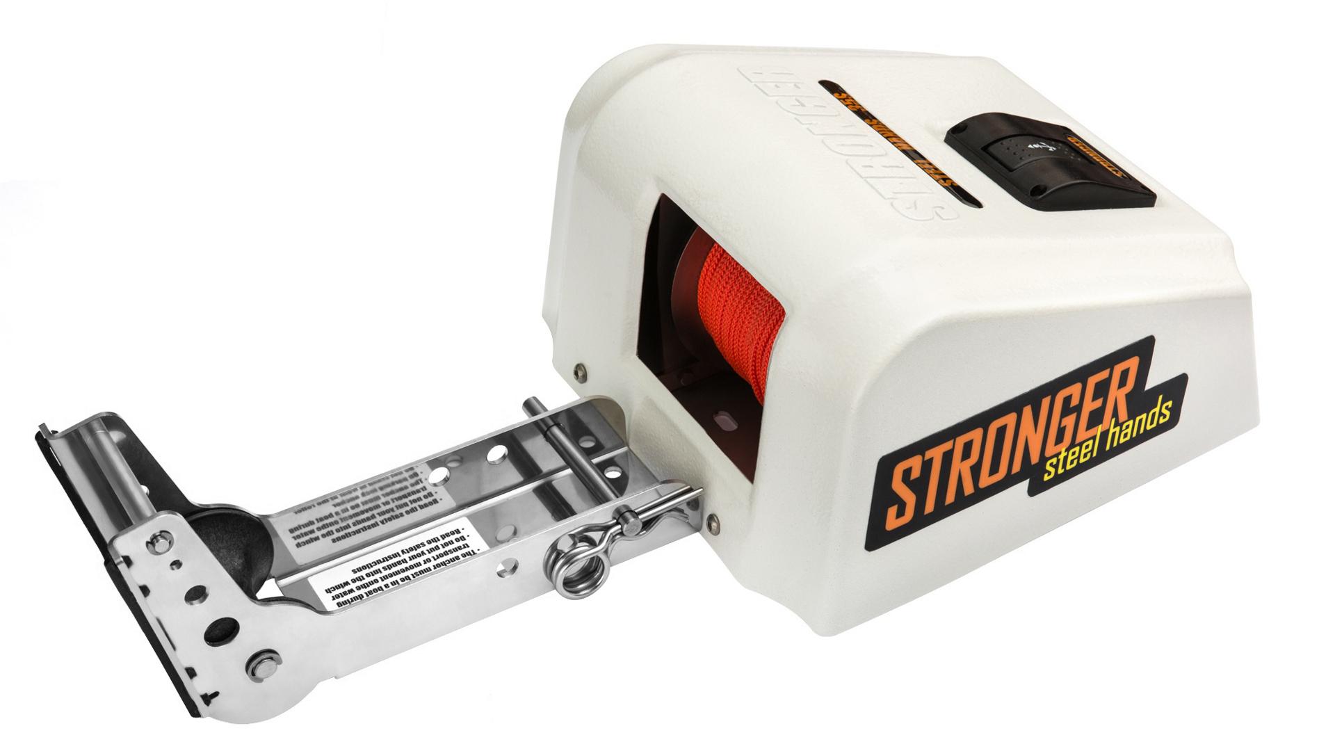 Якорная лебедка для соленой воды, Якорная лебедка Stronger Steel Hands 35SW, STRONGER Steel Hands 35SW, STRONGER SH 35SW, STRONGER SH35SW, STRONGER SH-35SW, Якорная лебедка Stronger Steel Hands 35S, STRONGER Steel Hands 35S, STRONGER SH 35S, STRONGER SH35S, STRONGER SH-35S