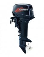 Подвесной лодочный двухтактный мотор двигатель TOHATSU M15D2 EPS, TOHATSU M15D2 EPL