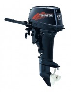 Подвесной лодочный двухтактный мотор двигатель TOHATSU M9.9D2 S, TOHATSU M9.9D2 L