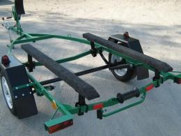 Прицеп для надувной лодки, трейлер для надувной лодки, трейлер для лодки, лодочный прицеп, прицеп для перевозки надувной лодки