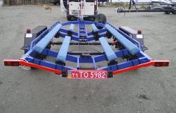 Прицеп двухосный для лодки, лодочный прицеп, Прицеп для лодки, Прицеп двухосный для катера, Прицеп для катера