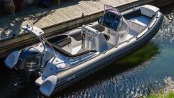 Grand Golden Line G650, Golden Line G650, GRAND G650, G650, Надувная лодка GRAND, yamaha f200f, yamaha f200g