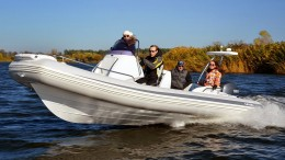 Надувная лодка с жестким дном, RIB, GRAND Golden Line G650