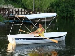 GRAND REGATTA RG370R limited edition - Гребная лодка с солнцезащитным тентом